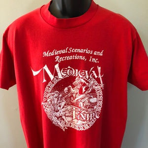 90s Medieval Faire Shirt Dragon Knight Renaissance